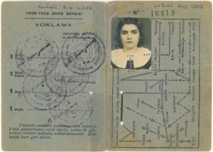 Öğrenci pasosu ve tramvay kartı