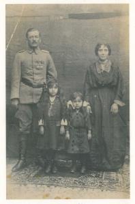 Necmettin Bey, Mediha, Meliha, Emine Hanım -Kars 1923